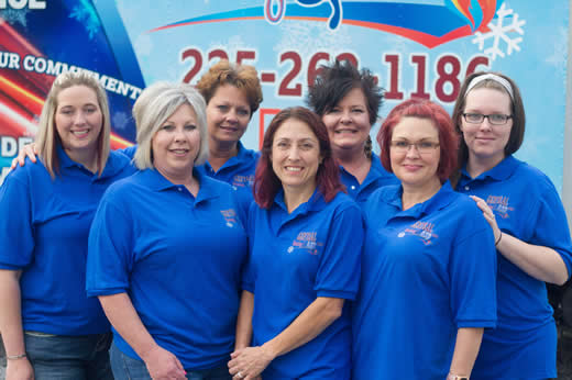 Central Heating & Air Office Staff